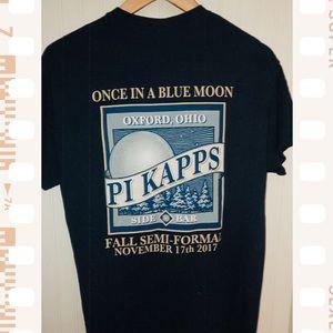 Pi Kapp Fraternity Tee Blue Moon Formal